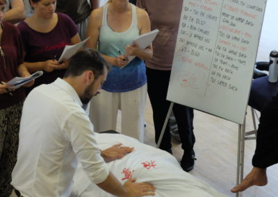 Teaching Medical Massage